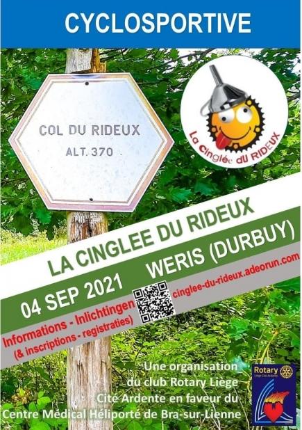 """Cyclosportive """"La Cinglée du Rideux"""""""