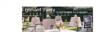 Une GARDEN-PARTY, dimanche 12 SEPTEMBRE 2021 à 13h.