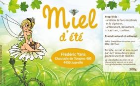 """Visite des Ruches """"chez Frederic Yans"""""""